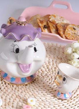 Красавица и Чудовище чайный набор