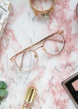 Очки для зрения с АлиЭкспресс в стильной оправе.