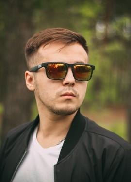 Зеркальные очки KDEAM