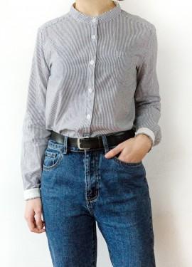 То, что я искала... Базовая рубашка в мелкую полоску