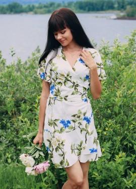 Милое платье с запАхом GOPLUS