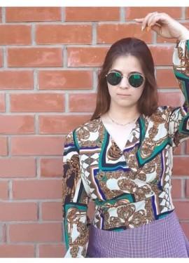 Трендовая блузка из ХАЛЯВЫ