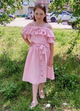 Красивый комплект для девочек от SHEIN_KIDDIE