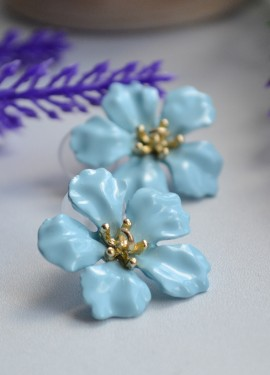 Серьги в форме цветка Etrendy official store