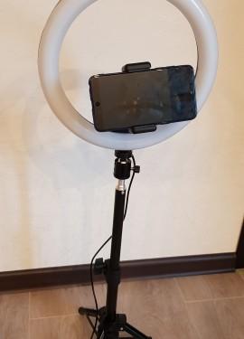 Мечты сбываются ! Светодиодное 10-дюймовое кольцевой свет для улучшения качество фотографии