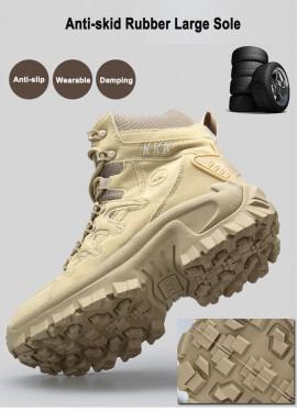 Мужские профессиональные Тактические Водонепроницаемые Походные сапоги дышащие ботинки DELTA армейск