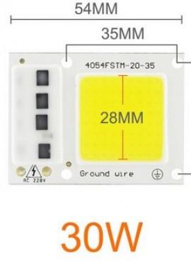 LED COB Chip 30W, 220V for Spotlight Floodlight Outdoor Lamp