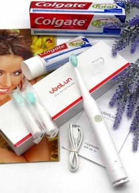 Здоровье и чистота  зубов с крутой электрической щеткой бренда UBALUN