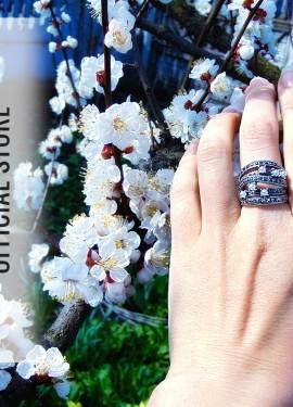 """Массивное кольцо в стиле """"винтаж"""" от Ajojewel"""