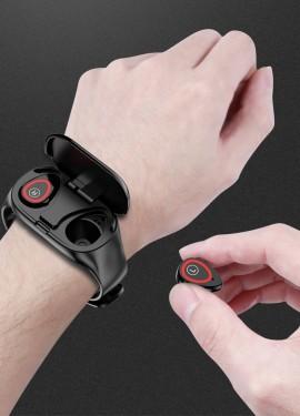 Fentorn M1 новые Смарт-часы с Bluetooth наушниками TWS