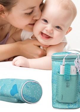 Бутылочка для кормления младенца с USB нагревателем
