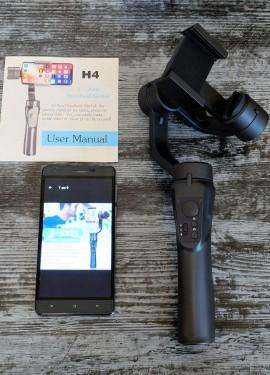 3-осевой стабилизатор H4 для смартфона или экшн камеры.