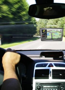 GPS навигатор Сенсорный экран Высокочувствительный приемник