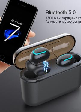 Наушники беспроводные HBQ Q32 TWS  Bluetooth 5,0