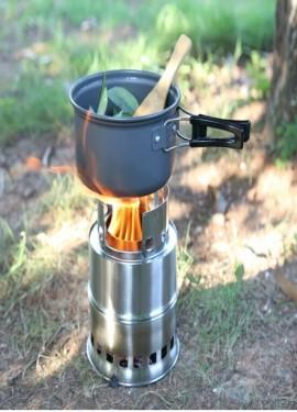 Походная печь, которая всегда сохранит огонь