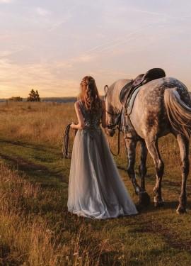 Невероятно красивое платье для фотосессии