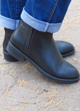 Модные комфортнейшие ботинки на осень из натуральной телячьей кожи