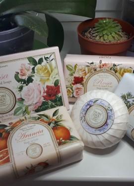 Вкусно пахнущее итальянское мыло Fiori Dea