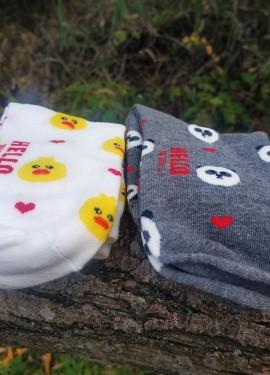 Носки с милыми принтами