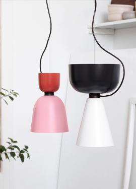 Красивые подвесные лампы в сканди-стиле