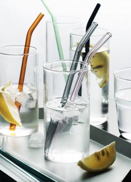 Эко трубочки многоразовые из стекла с Алиэкспресс