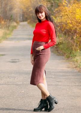 Шерстяная юбка GIGOGOU