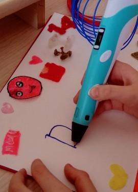 Увлекательное творчество при помощи 3-D ручки
