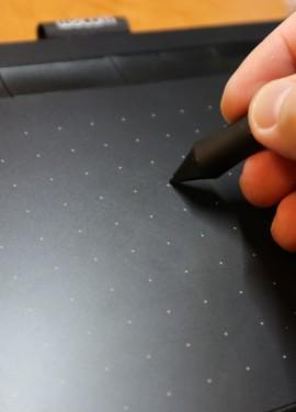 Качественный и недорогой графический планшет Intuos S от ведущей фирмы Wacom