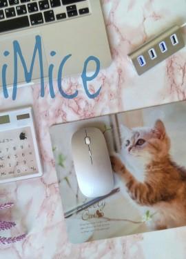 Коврик для мышки с милым котёнком от бренда iMice - пройти мимо просто невозможно!