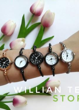 Сегодня хочу представить вашему вниманию сразу пять женских часиков от WILLIAN TELL store.