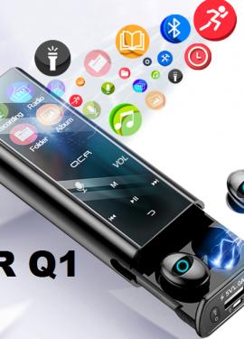 QCR Q1 беспроводные bluetooth наушники, наушники, многофункциональный mp3-плеер