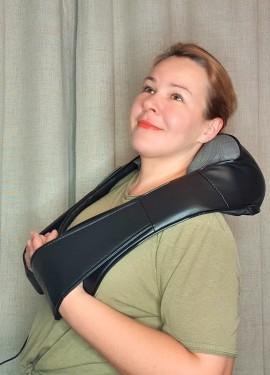 Электрический инфракрасный массажер для шеи, спины и плеч JINKAIRUI