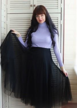 Красивая тюлевая юбка TingYili