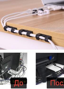 Провода в порядке. Набор для кабель-менеджмента.