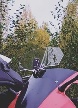 Универсальный дефлектор ветрового стекла для Yamaha, Honda, Kawasaki, BMW Ducati и т.д.