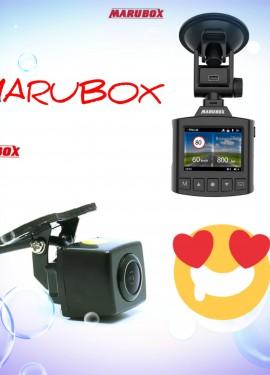 Видеорегистратор МARUBOX340GPS и камера заднего вида MARUBOX М184 по выгодным ценам в чёрную пятницу