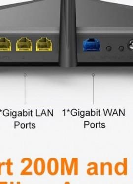 Nueva Tenda AC11 Gigabit de doble banda AC1200 Router inalámbrico Wi-Fi