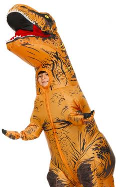Надувной динозавр, Пикачу и другие смешные костюмы с Алиэкспресс
