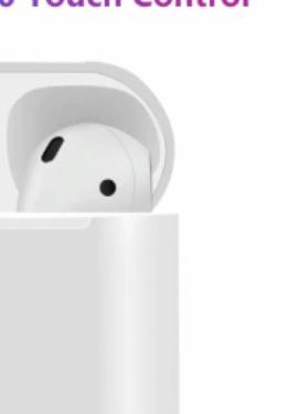 i12 TWS auriculares con controles sensor 1: 1 AirPods Bluetooth de Apple 5,0
