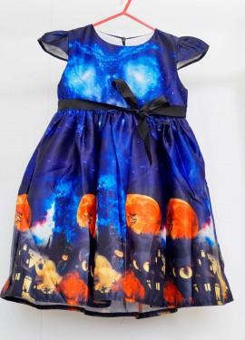 Детское платье в стиле Хэллоуин
