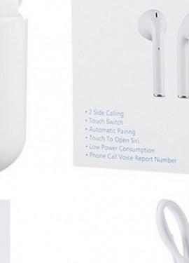 i12 TWS AirPods2 2019 nuevo i12S TWS Bluetooth 5.0 auricular con superbajos