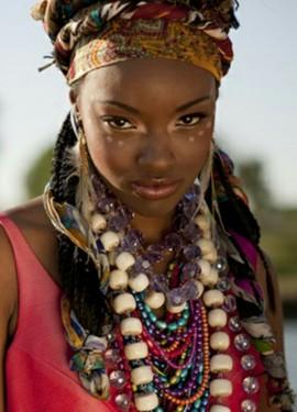 Восхитительная африканская бижутерия