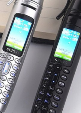 SERVO K07 mini telefone caneta