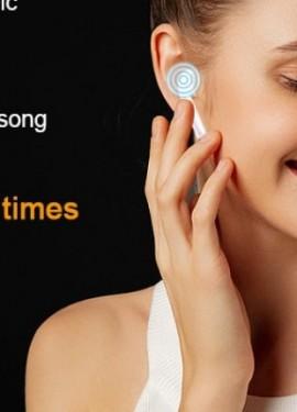 i300 TWS bluetooth fones de ouvido, sensor inteligente PK W1 H1 chip fones de ouvido sem fio i10 i7s