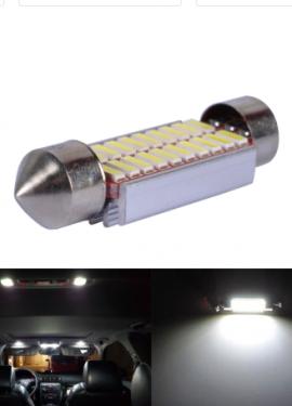 Светодиодные лампы в салон автомобиля.