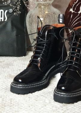 Актуальные ботинки из натуральной кожи с Алиэкспресс