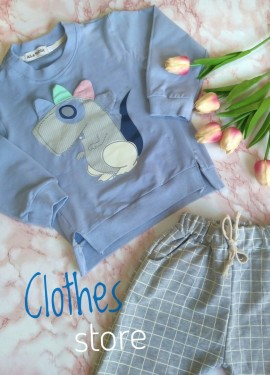 Детский костюм от бренда AiLe Rabbit.