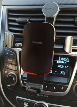 Удобный держатель для телефона в авто от Baseus