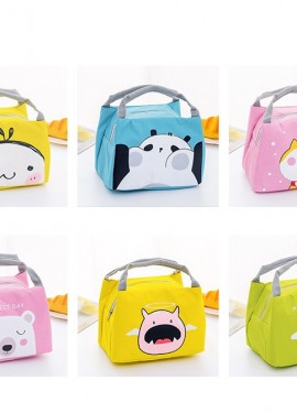 Cartoon Cute Lunch Bag For Women Girl Kids Children Thermal Insulated Lunch Box Tote