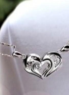Парные ожерелья для влюбленных